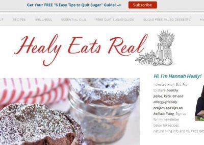 Healy Eats Real